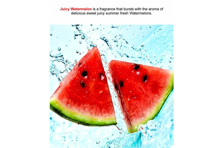 JUICY WATERMELON Diffuser Fragrance Oil Refill BONUS Free Reeds
