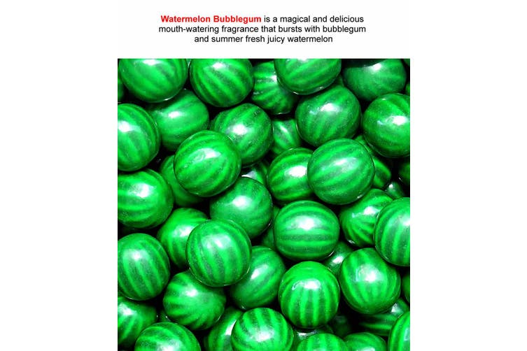 WATERMELON BUBBLEGUM Diffuser Fragrance Oil Refill BONUS Free Reeds