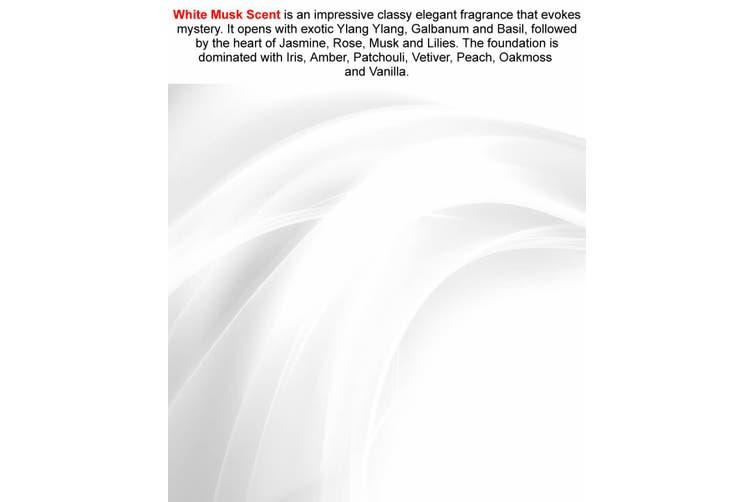 WHITE MUSK Scented Diffuser Fragrance Oil Refill BONUS Free Reeds