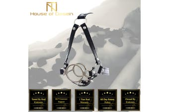Head Harness Open Mouth Gag Deep Throat Bondage Kink BDSM Fetish Restraints - Standard