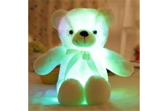 Light Up Glowing Teddy Bear Stuffed Animals Plush Toy Night Light DDLG Littles ST101 PV2 - 30cm