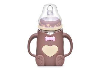 Baby Bear Glass Bottle