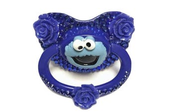 Cookie Monster Deco Pacifier - Blue