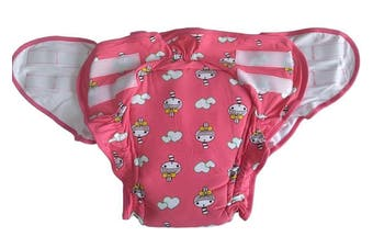 Pink Ruffled Princess Diaper