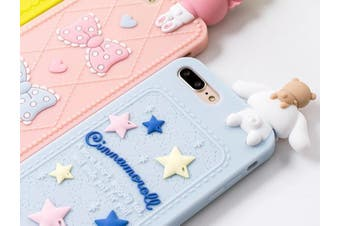 Kawaii Character 3D Cases - for iphone 7p 8plus