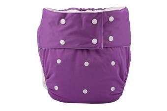 Purple Adult Diaper - std