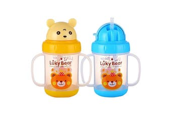 Lucky Bear Sippies