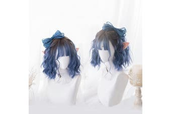 Blue Ombre Lolita Wig - std
