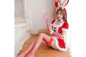 Santa Bunny Outfit - std
