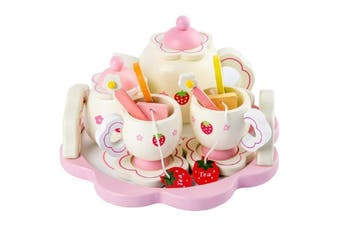 Strawberry Wooden Tea Set - std