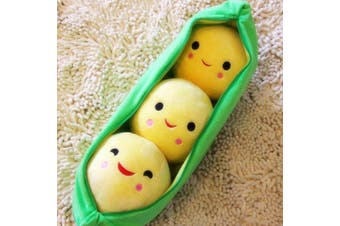 3 Peas in a Pod Green Soft Plush Toy for DDLG Littles Stuffies Kawaii ST101 PV2
