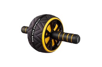 5 Colours Ab Wheel Waist Toning Core Workout Exercise Home Gym Fitness Equipment
