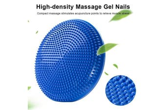 Inflatable Yoga Massage Ball Pad Gym Fitness Yoga Wobble Stability Balance Disc F01 AU Stock - Australia