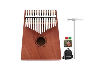 17 Keys Kalimba Thumb Piano High-Quality Wooden Musical Instrument AU Stock - Australia