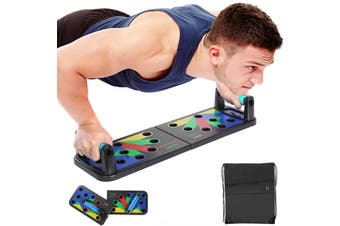 Foldable Push Up Board Fitness Workout Train Gym Exercise Pushup Stands F02