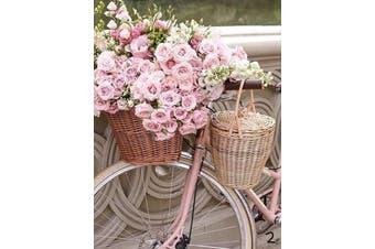Diamond Painting Full Square Flowers Bicycle Vintage Car Home Decor Kit