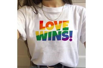 17 Designs! Gay Pride Rainbow Harajuku Shirts for Women