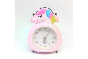 Cute Cartoon Unicorn Alarm Clock Kawaii Bedroom Accessories NP20