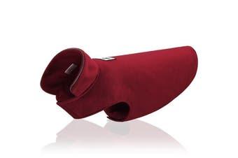 Red Wine Dog Pet Polar Fleece Jacket Vest Warm Clothes Jumper Winter Coat Clothing XS-XXL