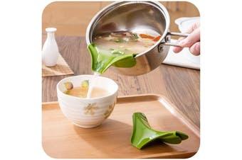Silicone Funnel Saucepan Pourer Creative Kitchen Accessories Utensils