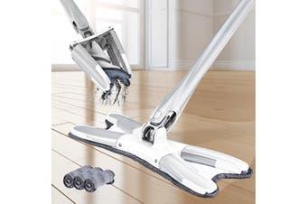X-type Microfibre Floor Mop Easy Handheld Wet or Dry Mop