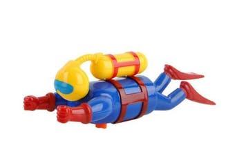 Blue Diver's Doll Children's Bath Toys Diver Figurine