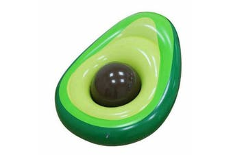 Big Inflatable Avocado Swimming Pool Toy Swim Ring Floating Avo