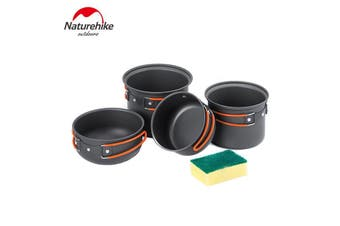NatureHike Outdoor Cookware Camping Non Stick Pots and Pans