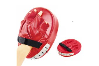 Red Boxing Glove Pad Home Gym MMA Muay Thai Fitness Equipment