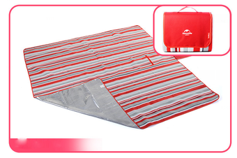 Naturehike Red Foldable Waterproof Outdoor Picnic Rug Camping Mat