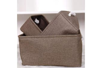 Linen Storage Basket Home Decor Storage Solutions