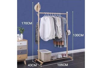 Portable Clothing Rack Home Bedroom Storage Solutions