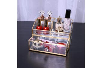 Elegant Glass Storage Box Bathroom Accessories Bedroom Decor