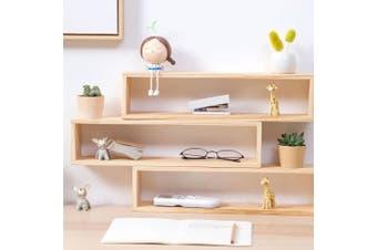Rectangular Wooden Shelf Home Storage Nordic Home Decor