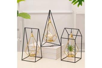 Geometric Candle Holder Lantern Modern Home Decor - Lantern