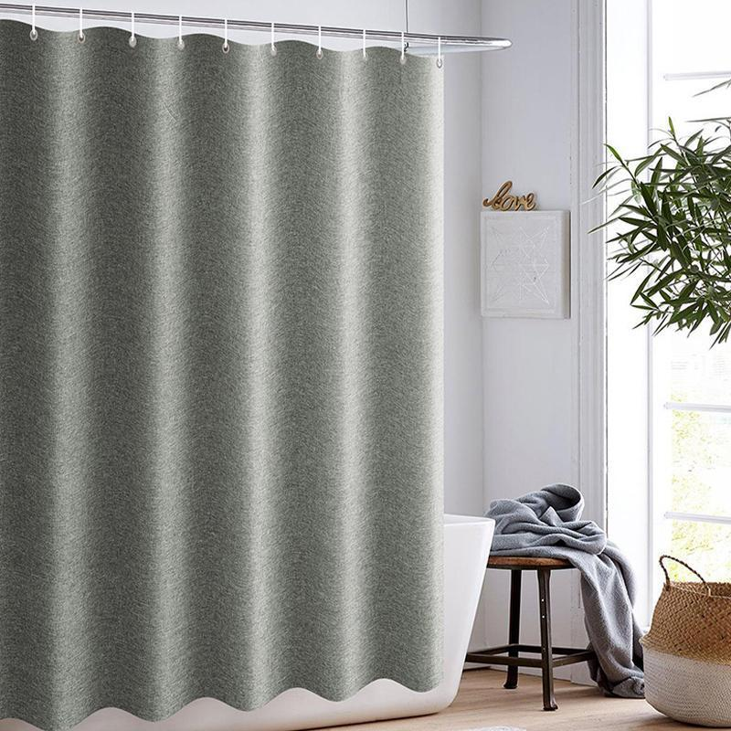 Grey Farmhouse Shower Curtain Matt Blatt