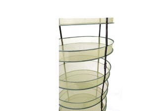 Hanging Foldable Herb Dry Rack - 6 Tier | 80CM | with Carry Bag