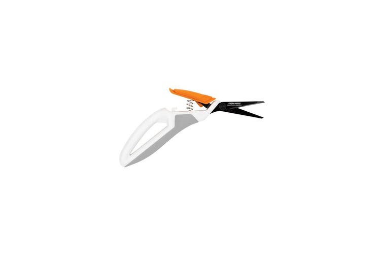 Fiskars Total Control Non-Stick Scissors - Thumb Trigger Design |Micro-Tip Blade