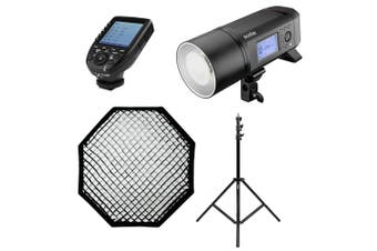 Godox AD600Pro Professional Portable Single Studio Flash Lighting Kit - Canon