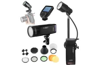 Godox AD200Pro 200W Flash Pro Round Head Extension Kit With Stand - Fujifilm