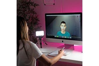 Pro LED Lighting 'Zoom' Video Conferencing Desk Kit - Single Pack