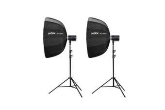 Godox AD300Pro 300W Portable Flash Strobe Dual Light Kit (Flash, Stand, Softbox, Bag and Trigger) - Canon