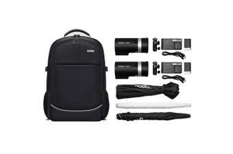 Godox AD300Pro 2x 300W Dual Portable Flash Backpack Kit