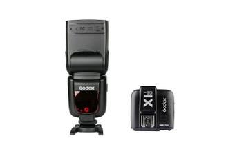 Godox TT685C 2.4G HSS 1/8000s TTL Speedlite Flash and X1 Trigger Kit for Canon