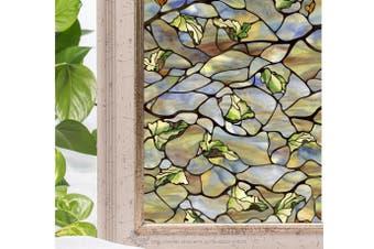 Leaf Olive Window Film