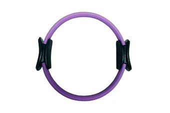 Yoga and Pilates Ring for Toning and Resistance Exercise - Purple