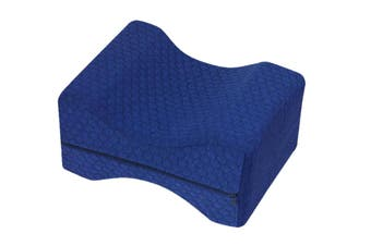 Orthopedic Knee Pillow - Dark Blue
