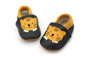 Infant Toddler Baby Soft Sole Leather Shoes for Girls Boys Walking - Tiger