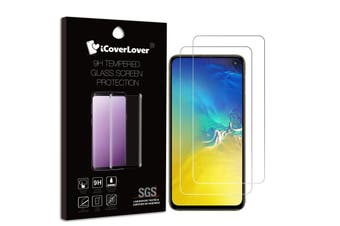 For Samsung Galaxy S10e,2-pack Tempered Glass Screen Protector,iCoverLover