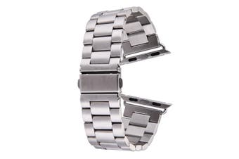 Silver For Apple Watch (42mm) Butterfly Stainless Steel Watch Strap